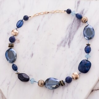 Catherine Malandrino Multi-Colored Crystal Beaded Necklace