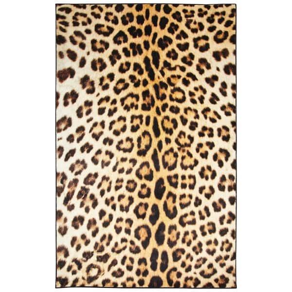 Prismatic Cheetah Spots Area Rug