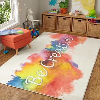 Mohawk Home Prismatic Be Creative Area Rug - 5'x 8'