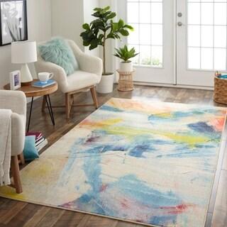 Mohawk Home Prismatic Canvas Art Area Rug - 5' x 8'