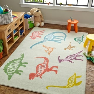 Mohawk Home Prismatic Dinosaurs Area Rug - 5'x 8'