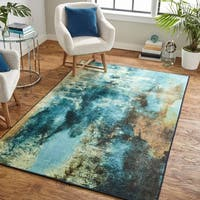 Mohawk Home Prismatic Glaicer Area Rug - 5' x 8'