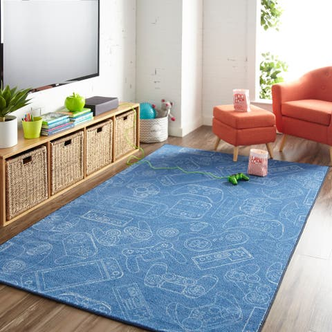 Mohawk Home Prismatic in Control Area Rug - 5' x 8'