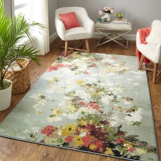 Link to Mohawk Home Merging Floral Area Rug Similar Items in Rugs