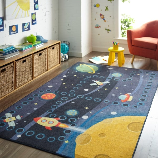 Mohawk Home Space Rocket Area Rug. Opens flyout.