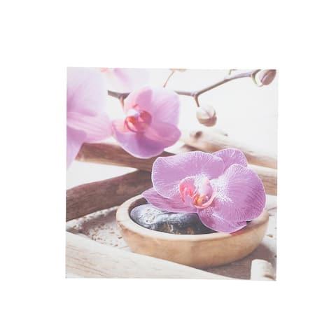 Sagebrook Home ORCHIDS CANVAS PRINT