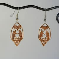 Handmade Copper Owl Earrings by Spirit tribal fusion (Indonesia)