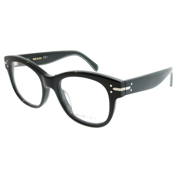 68b1ab4a0e Shop Celine Cat-Eye CL 41350 Lucy 807 Women Black Frame Eyeglasses ...