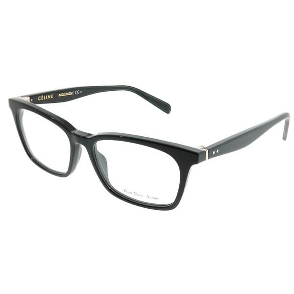 844a4d596c05 Celine Rectangle CL 41345 Thin Small Squared 807 Unisex Black Frame  Eyeglasses