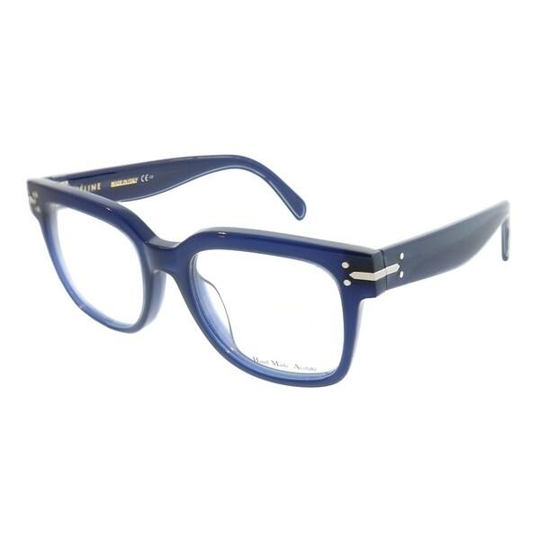 d1f5c8d63b6 Shop Celine Square CL 41359 Frida M23 Unisex Blue Frame Eyeglasses ...