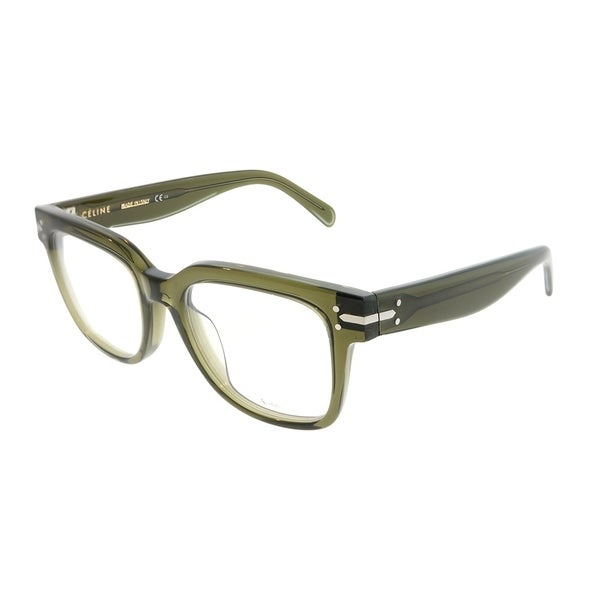 0c0e4f7541 Shop Celine Square CL 41359 Frida X4N Unisex Green Frame Eyeglasses ...