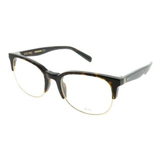 43cded36b039 Celine Square CL 41346 Thin Squared 807 Unisex Black Frame Eyeglasses.  Quick View