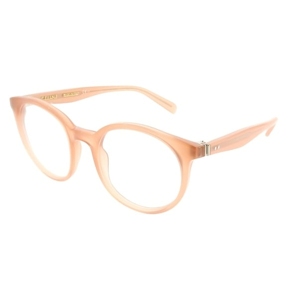2f698184e07 Celine Round CL 41349 Thin Mary Small N8O Unisex Antique Rose Frame  Eyeglasses
