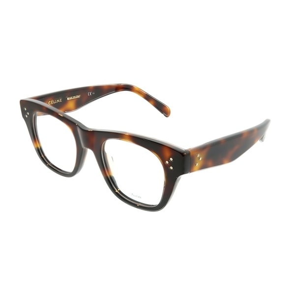3fe29b5bd3f Celine Square CL 41361 Cathrine Small AEA Unisex Havana Black Frame  Eyeglasses
