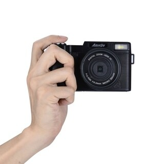 "CDR2 24MP 1080P Mini Digital Camera with 4 Times Digital Zoom & 3"" TFT Display"