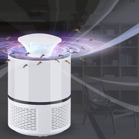 Electronic Mosquito Killer Photocatalyst Light USB Power With Suction Fan