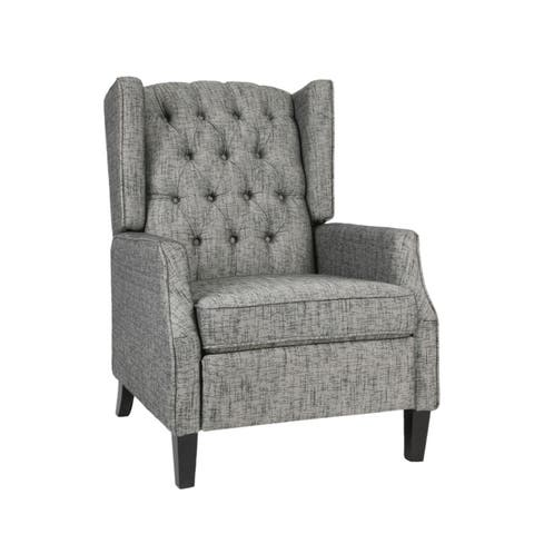 Keating Traditional Wingback Recliner by Christopher Knight Home