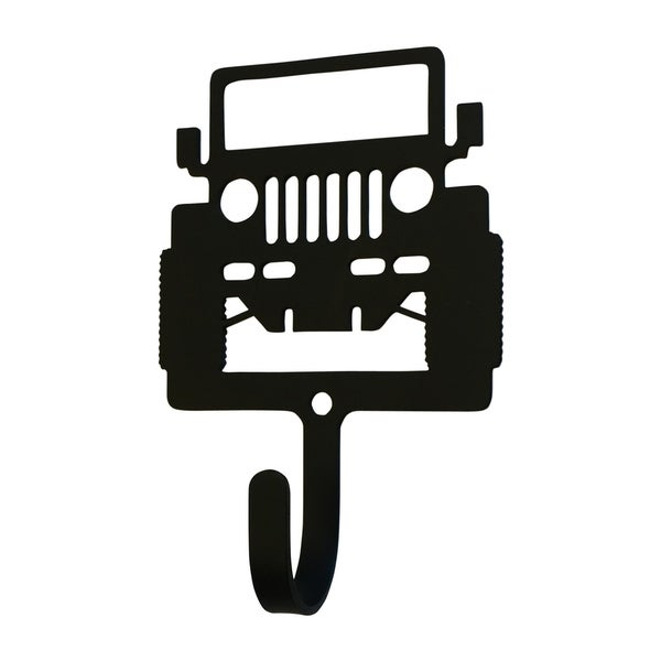 Village Wrought Iron Decorative Off Road Vehicle Wall Hook - Small