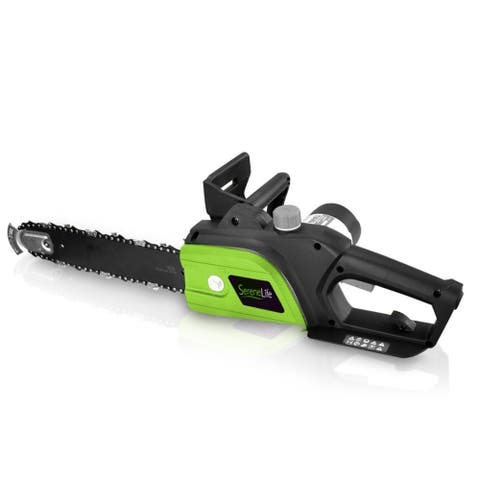 Electric Chainsaw - Corded Home Garden Chain-Saw Cutter (12'' -inch)