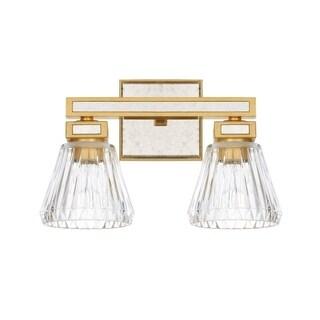 Capital Abella 2-light Capital Gold Bath/Vanity Light