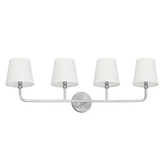 Capital Dawson 4-light Brushed Nickel Bath/Vanity Light