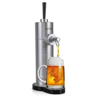 NutriChef PKBRFMSR22 Automatic Beer Dispenser Portable Beer Pump Server