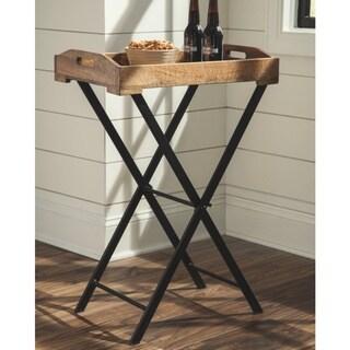 Cadocridge Brown/Black Urban Tray Table