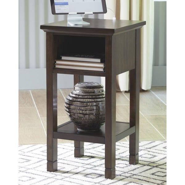 Marnville Dark Brown Contemporary Accent Table