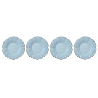Lenox French Perle Melamine Blue Dinner Plate, Set of 4