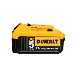 Dewalt DCB205 20V MAX XR 5.0Ah Lithium Ion Battery-Pack - Black