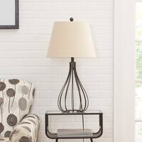 Remi Metal Wire Open Framed Gourd Table Lamp