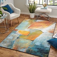 Mohawk Prismatic Painted Blocks Area Rug - 8' x10'