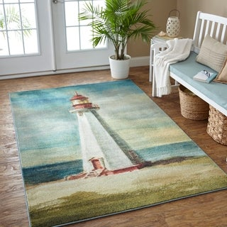Mohawk Prismatic Lighthouse Area Rug - 8' x 10'