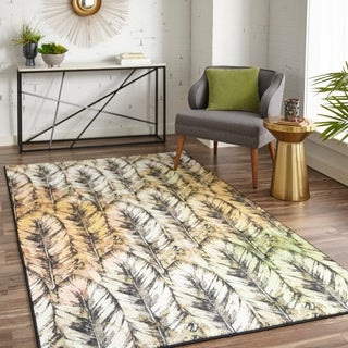 Mohawk Prismatic Painted Feathers Area Rug - 8' x10'