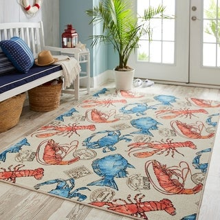 Mohawk Prismatic Ocean Catch Area Rug - 8' x 10'