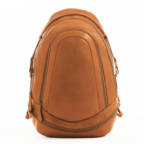 Handmade MONREAUX Pearl Leather Backpack