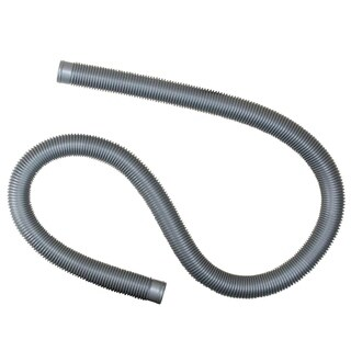 "Heavy-Duty Silver Pool Filter Connect Hose - 72"" x 1.25"" - 72"