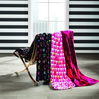 Link to Betsey Johnson Ultra Plush Throws Similar Items in Towels