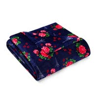 Betsey Johnson French Floral Blanket