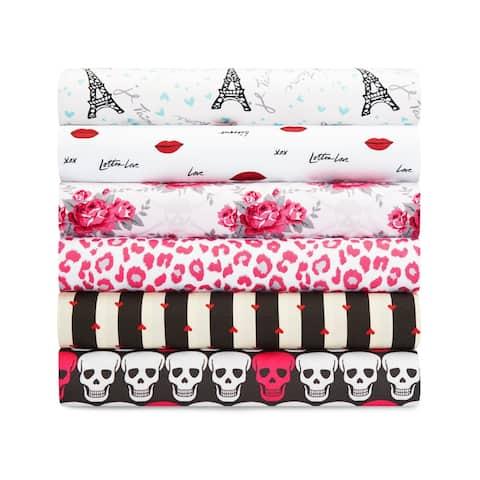 Betsey Johnson Printed Novelty Bed Sheet Sets