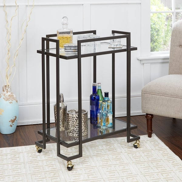 Welland 2-tier Rectangular Serving Cart