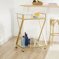 Regina X-Frame 2-Tier Serving Cart