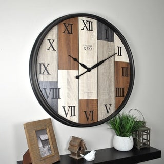 FirsTime & Co® Timberline Wall Clock