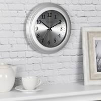 FirsTime & Co® Sleek Steel Wall Clock
