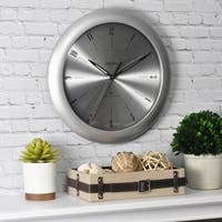 FirsTime & Co® Plasma Steel Wall Clock