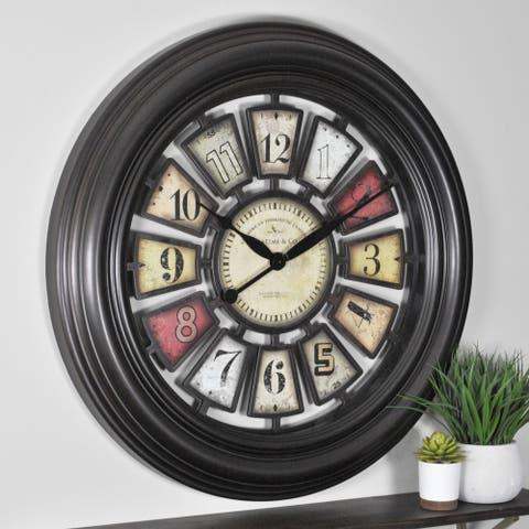 FirsTime & Co Industrial Chic Wall Clock