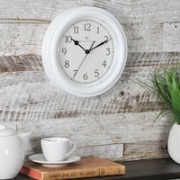 FirsTime & Co® White Essential Wall Clock