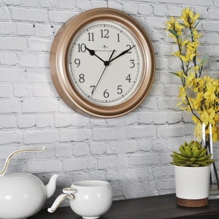 FirsTime & Co® Champagne Essential Wall Clock