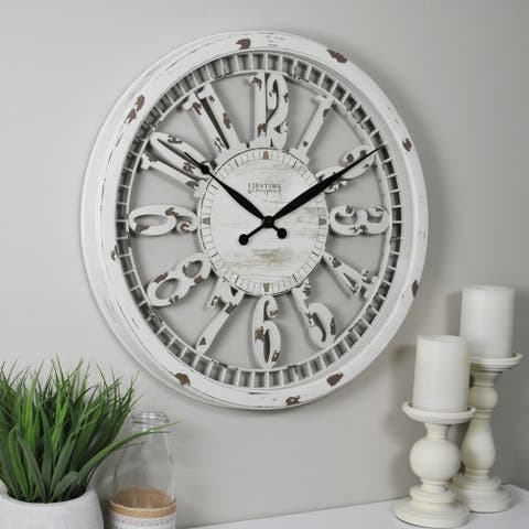 FirsTime & Co® Whitney Wall Clock