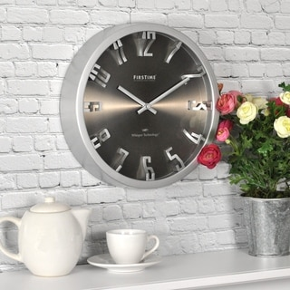 FirsTime & Co® Steel Dimension Wall Clock